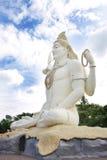 shiva阁下雕象的侧视图Kachnar市的,贾巴尔普尔 免版税库存图片