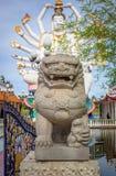 shiva雕象在苏梅岛海岛上的 库存照片
