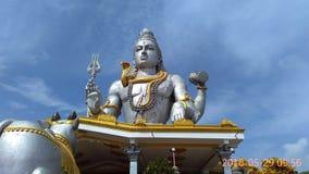Shiva雕象 库存照片