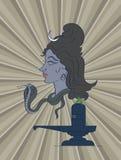 Shiva ο ινδός Θεός Στοκ Εικόνες