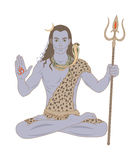 Shiva royalty free stock photos