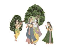 Free Shiva And Parvati In Love Royalty Free Stock Photos - 163679178