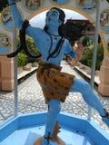 Shiva como señor de la danza, Rishikesh, la India imagenes de archivo