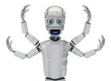 Shiva-cyborg Stock Photography