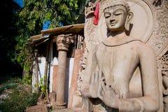 Shiva de seigneur de statue Photos libres de droits