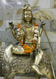 статуя shiva лорда delhi Стоковая Фотография