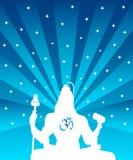Shiva - dios indio libre illustration