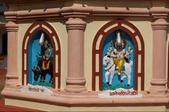 Shiva en Agni Stock Afbeeldingen