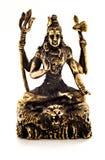 Shiva en bronze photographie stock libre de droits