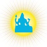 Shiva - il dio indiano Immagine Stock