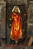 Shiva image in Hindu temple Stock Photos