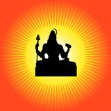 Shiva - The Indian God Stock Photos