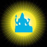 Shiva - The Indian God Stock Photography