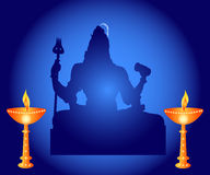 Shiva - The Indian God Royalty Free Stock Photo