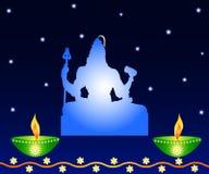 Shiva - The Indian God Royalty Free Stock Photo