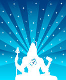Shiva - The Indian God Royalty Free Stock Image