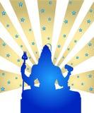 Shiva - The Indian God Royalty Free Stock Photos