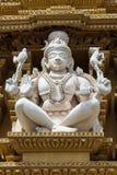 Shiva jako Adi jogowie przy Srikanteshwara świątynią w Ganjangud, India obraz stock