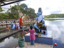 Shiva and Lakshmi Royalty Free Stock Photography