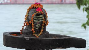 Shiva Linga stock footage