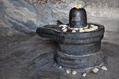 Shiva-lingam lizenzfreie stockfotos