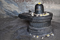 Shiva lingam royalty free stock photos
