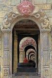Shiva lingam Pashupatinath Royaltyfri Bild
