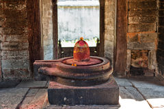 Shiva lingam of Pashupatinath temple Stock Photography