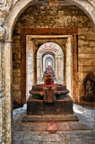 Shiva lingam of Pashupatinath temple Royalty Free Stock Photo