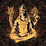Shiva. Maha Shivaratri. Royalty Free Stock Images