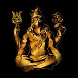 Shiva. Maha Shivaratri. vector illustration
