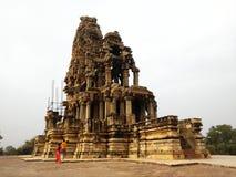 Shiva mandir - morena , madhya pradesh , india stock photography