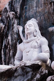 Shiva in Meditation. A plaster carving of the god Shiva sitting in meditation Stock Photography