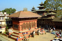 Shiva Parvati Temple, Kathmandu, Nepal Stock Photography