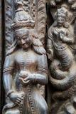 Shiva-Parvatitempel, Durbar-Quadrat, Kathmandu, Nepal Lizenzfreies Stockfoto