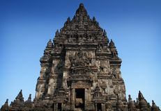 The Shiva from Prambanan Temple. The Shiva Temple of Prambanan Temple Complex Royalty Free Stock Photos