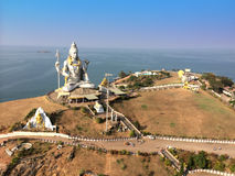 Shiva's statue. India. Murdeshvar. Royalty Free Stock Image