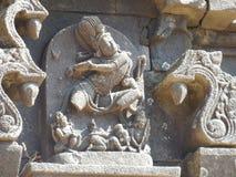 Shiva sculpture. Place - Nageshwar temple, Pune, India Royalty Free Stock Photos