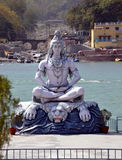 Shiva. Sculpture in Rishikesh Royalty Free Stock Photography