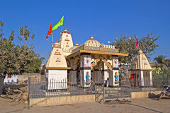 Shiva Siddheshwar temple in Porbandar Stock Photos