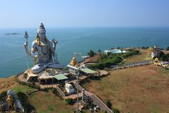 Shiva statua Zdjęcia Stock