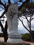 Shiva. Statue of Shiva in Buddha Eden, with trees in background Royalty Free Stock Images