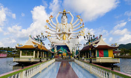 Shiva Statue In Koh Samui Stock Photo