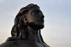 Isha foundation, Coimbatore, India. Shiva statue at Isha foundation, Coimbatore, Tamil Nadu, India stock photography
