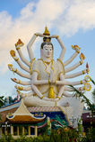 Shiva statue on koh samui Stock Image