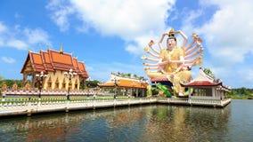 Shiva statue on Koh Samui stock video