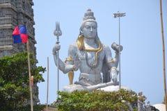 Shiva Statue - Murudeshwar Arkivbild