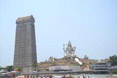 Shiva Statue - Murudeshwar Stockfoto