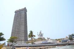 Shiva Statue - Murudeshwar Royaltyfri Bild