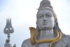 Shiva Statue - Murudeshwar Royaltyfri Fotografi